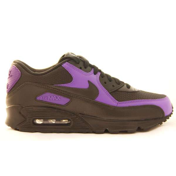 Кеды Nike Air Max 90 black-purple